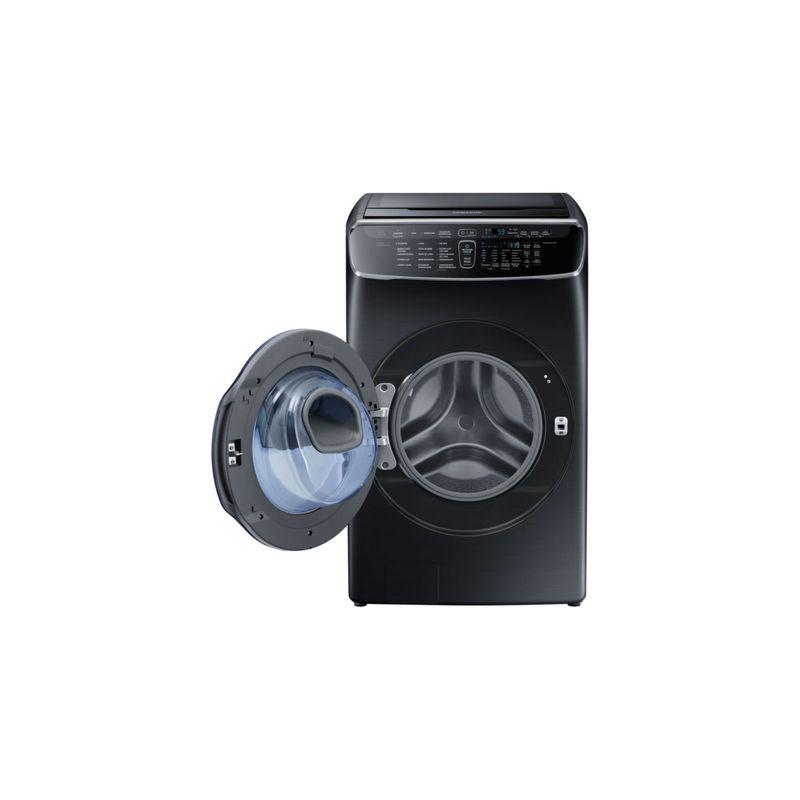 Samsung-51030714-py-flexwash-wr25m9960kv-wr25m9960kv-zs-frontdooropenblack-171023394PD_GALL
