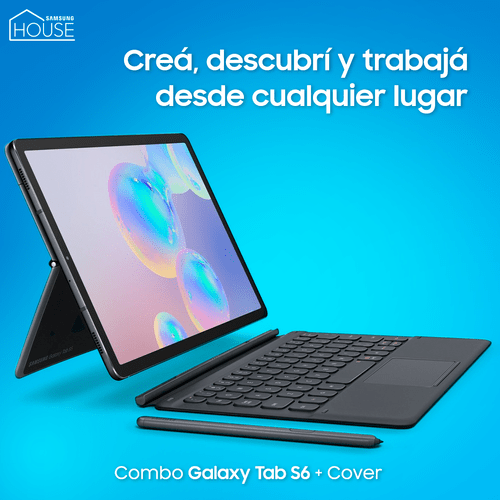 Galaxy Tab S6 10.5 + Keyboard Cover